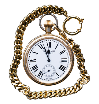 Pocket Watch, Clock, Close, Old, Pointer, Horology