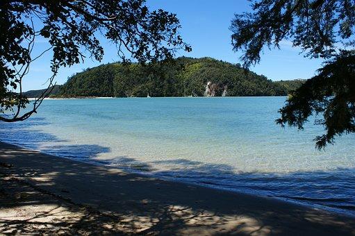 Abel Tasman, National Park, Beach, New Zealand