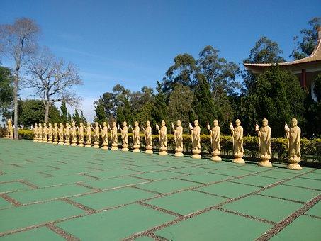 Buddhist Temple, Sculpture, Brazil