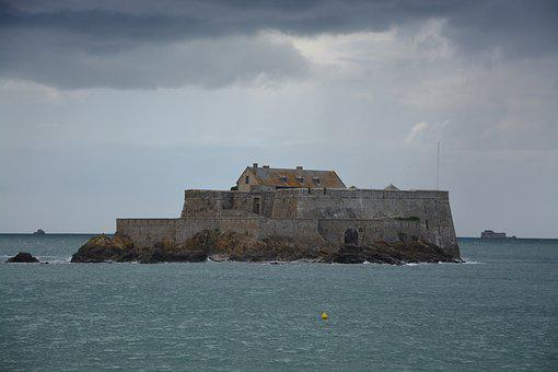 Strong National, Saint Malo, Sea, Water, Brittany