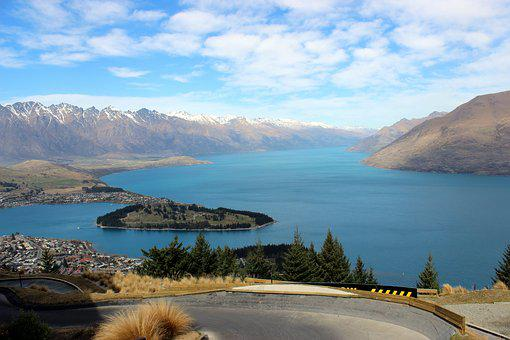 Queenstown, New Zealand, View, South Island
