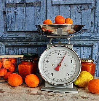 Vintage, Boil Down, Jam, Canning, Horizontal, Apricot