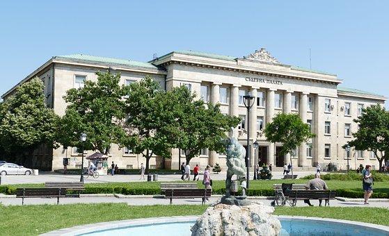 Bulgaria, Rousse, Danube, City, Architecture, Theater