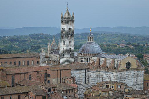 Sienna, Italy, Tuscany, Cathedral, Old Town, Roof