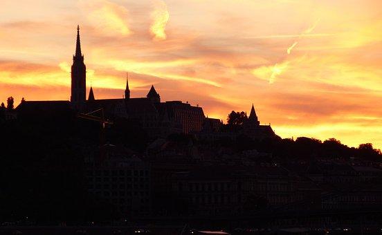 Budapest, Evening, Lighting, Night, City Trip