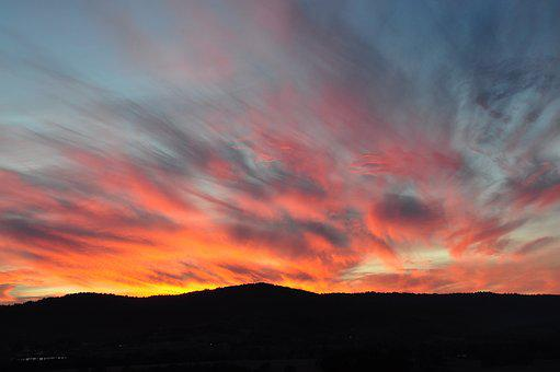 Sunset, Sky, Nature, Landscape, Evening, Outdoor