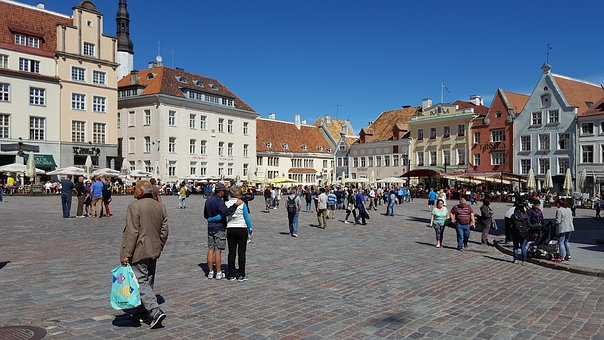 City, Old Town, Estonia, Downtown, Historic Old Town