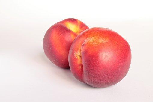Peaches, Nectarines, Fruit, Healthy, Sweet, Lean
