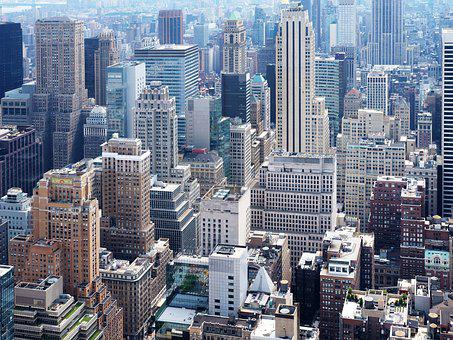 Manhattan, New York City, Top Of The Rock, Architecture