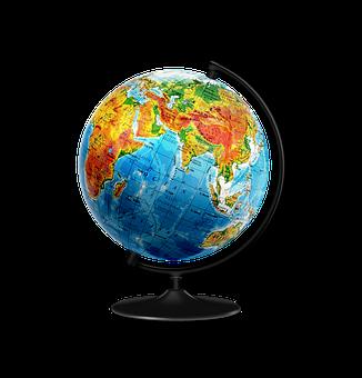 Globus, Earth, World, Map, Geography, Child, School
