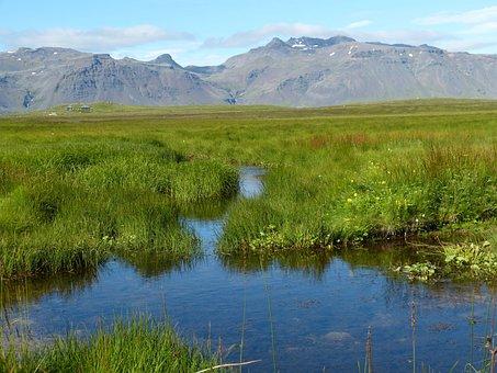 Iceland, Snaefellness, Snæfellsnes Peninsula, Nature