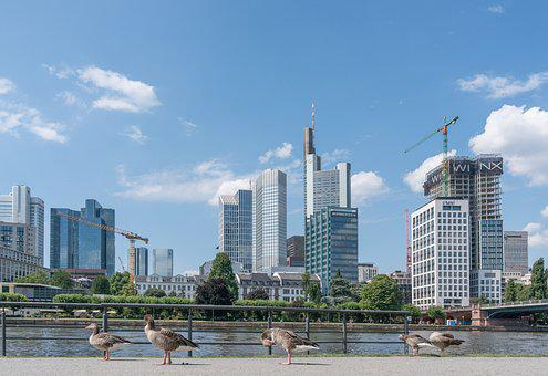 Frankfurt, City, Outlook, Architecture, Skyline