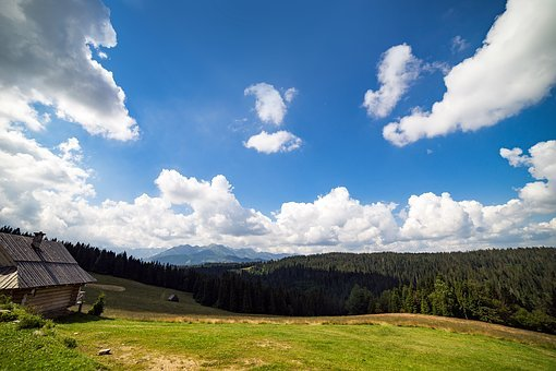 Mountains, Karpaty, Zakopande, Poland, Hills, Sky