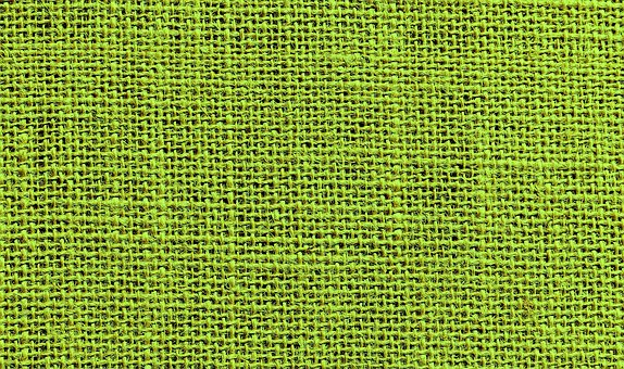 Background, Fabric, Coarse, Green, Tissue