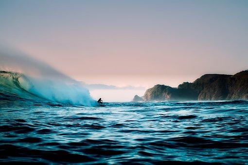 New Zealand, Sea, Ocean, Water, Mountains, Cliffs