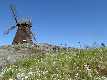 Windmill, Sweden, Mill