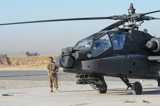 Ah-64e, Apache, Attack Helicopter, Aviation, Aircraft