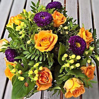 Flowers, Cut Flowers, Bouquet, Yellow Roses