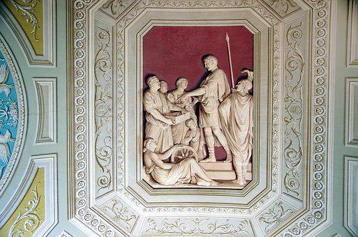 Italy, Rome, Vatican, Ceiling, Gallery, Cartridge