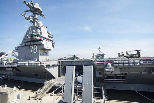 Commissioning Ceremony, Gerald R, Ford, Cvn 78