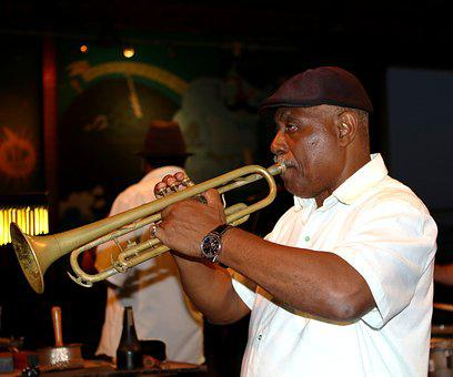 Trumpeter, Trumpet, Cuba, Havana, Club, Instrument