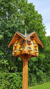 Insect House, Nature, Nesting Help, Hotbed, Garden