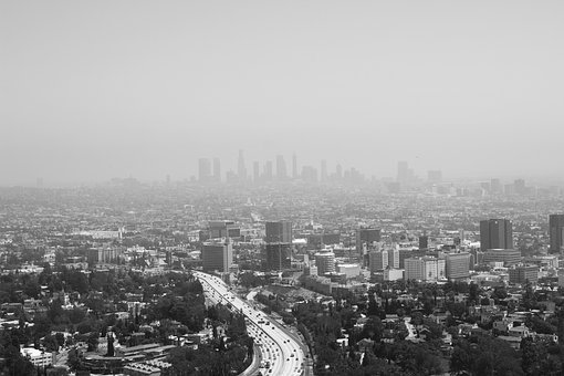 Los Angeles, City, Landscape, Los Angeles Skyline, Los
