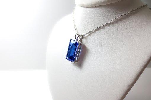 Tanzanite, Tanzania, Blue, Purple, White, Gold, Stone