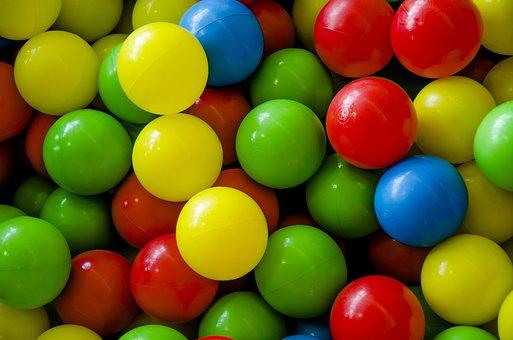 Balls, Colour, Colourful, Children, Circle, Fund