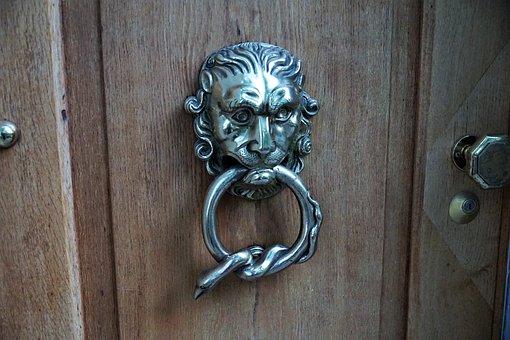 Door, Jack, Input, Door Handle, Metal, Old, Door Knob