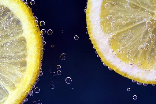 Lemon, Lemon Under Water, Lemonade, Drink, Thirst