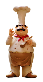 Cooking, Figure, Funny, Cook, Gastronomy, Restaurant