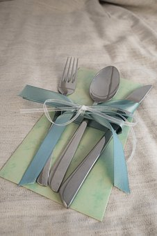 Cutlery, Eat, Fork, Knife, Spoon, Cover, Table