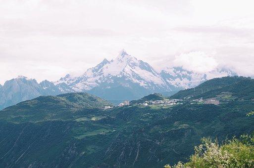 Snow Mountain, Tibet, Meili Snow Mountain