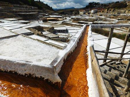 Salt, Mine, Saltworks, Saline, Mineral, Production