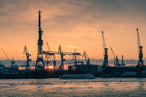 Hamburg, Port, Hamburg Port, Elbe, Hanseatic City
