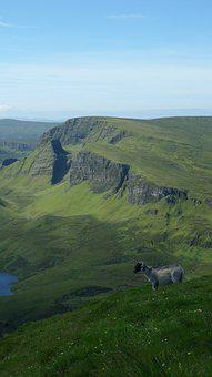 Scottish, Scotland, Mountain, Landscape, Nature, Sky