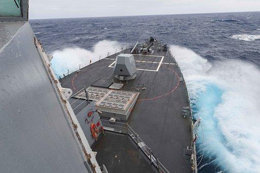 Usn, United States Navy, Destroyer, Ship, Naval Vessel