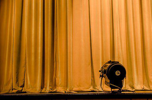Curtain, Stage, Opera, Show, Entertainment, Waiting