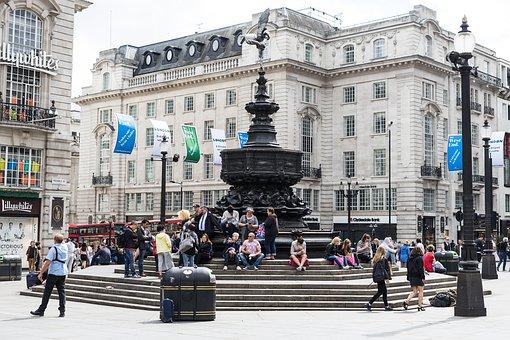 London, Piccadilly Circus, Soho, People, United Kingdom