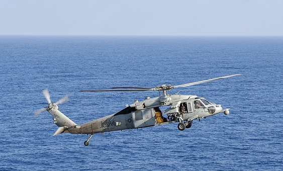 Mh-60s Sea Hawk, Usn, United States Navy, Helicopter