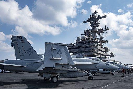 F A-18e Super Hornet, Usn, Aircraft Carrier, Aviation