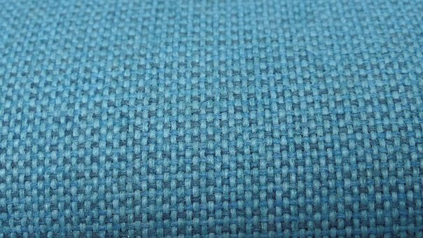 Fabric, Background, Light Blue