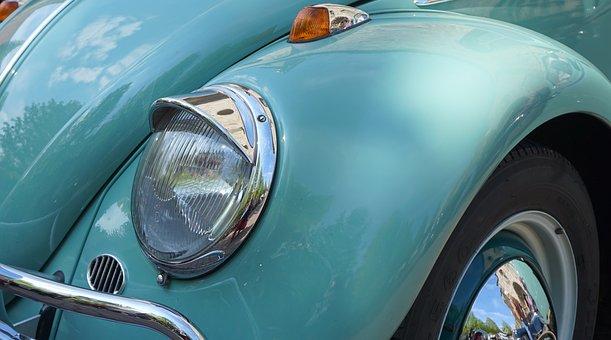 Vw, Beetle, Vw Beetle, Auto, Oldtimer, Volkswagen