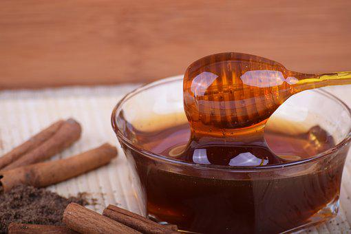 Honey, Cinnamon, Bowl, Bee Honey, Food For My Health