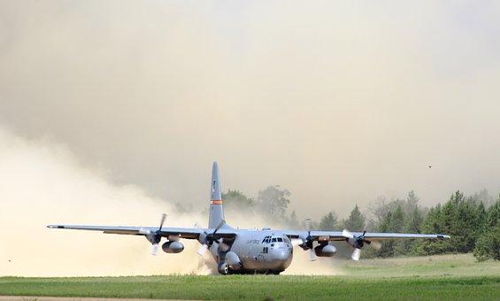 C-130, Hercules, Cargo Plane, Aircraft, Aviation