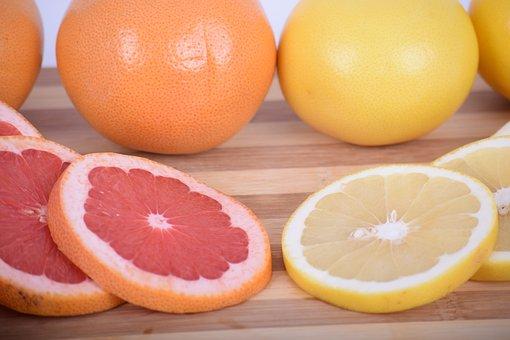 Grapefruit, Grapefruit Red, Grapefruit Yellow, Citrus