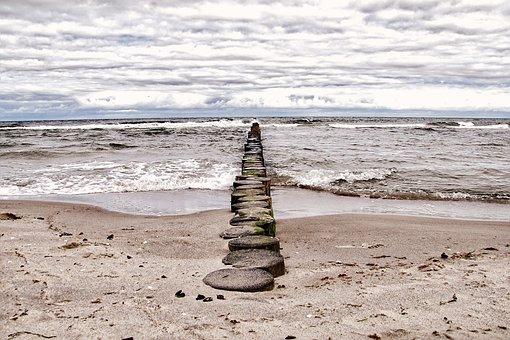 Baltic Sea, Sea, Coast, Beach, Water, Holiday, Sand