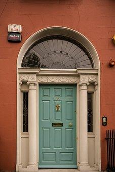 R, Input, Ireland, Dublin, House Entrance, Come In