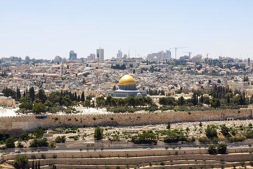 Jerusalem, Israel, Holy City, City, Dome Of The Rock